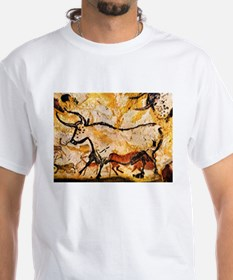 Second Bull, Cave Painting, L Shirt