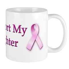 I Support My Daughter Mug