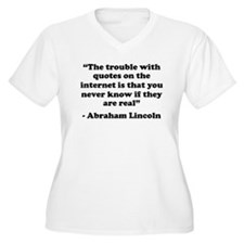 The Trouble With The Internet Plus Size T-Shirt