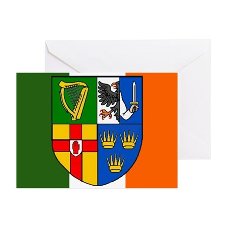 Four Provinces Shield Cards (Pk of 10)