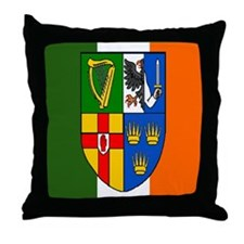 Four Provinces Shield Throw Pillow