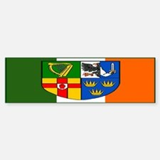 Four Provinces Shield Bumper Bumper Bumper Sticker