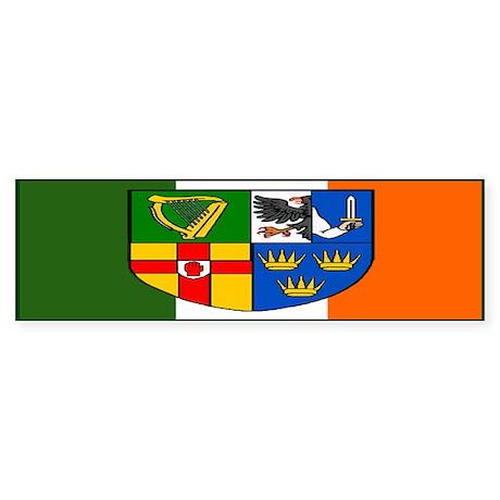 Four Provinces Shield Bumper Sticker