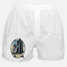Gothic Beach Beauty Boxer Shorts