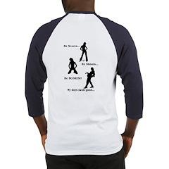 Score-Shoot-Score(OnBack) Baseball Jersey
