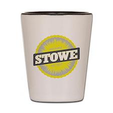 Stowe Mountain Ski Resort Vermont Yellow Shot Glas