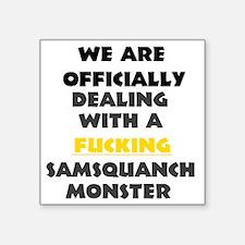 """tpb, bubbles,samsquanch Square Sticker 3"""" x 3"""""""