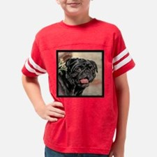 Pug in the Park Youth Football Shirt