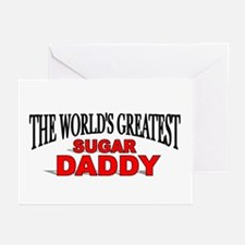 """The World's Greatest Sugar Daddy"" Greeting Cards"