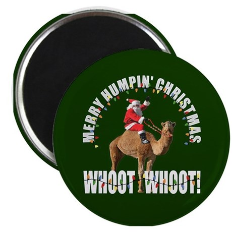 Merry Humpin Christmas Santa and Hump Day Camel Ma