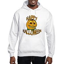 happy halloween Smiling Pumpkin Hoodie
