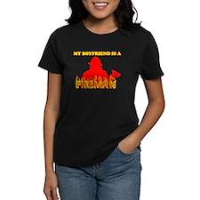 MY BOYFRIEND IS A FIREMAN SHI Tee
