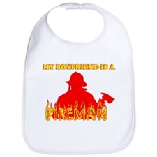 MY BOYFRIEND IS A FIREMAN SHI Bib