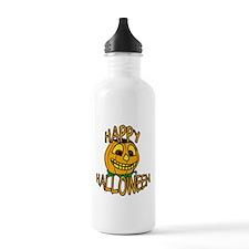 happy halloween Smiling Pumpkin Water Bottle