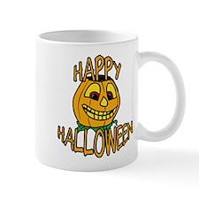 happy halloween Smiling Pumpkin Mugs