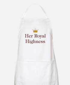 Her Royal Highness BBQ Apron