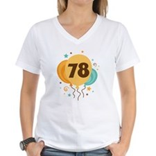 78th Birthday Party Shirt