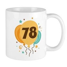 78th Birthday Party Mug