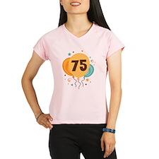 75th Birthday Party Performance Dry T-Shirt