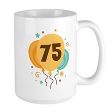 75th Birthday Party Mug
