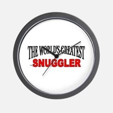"""The World's Greatest Snuggler"" Wall Clock"