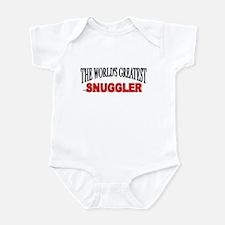 """""""The World's Greatest Snuggler"""" Infant Bodysuit"""