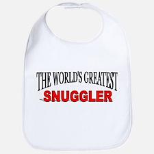 """The World's Greatest Snuggler"" Bib"