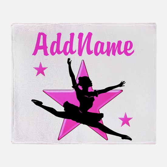 DANCE SUPER STAR Throw Blanket