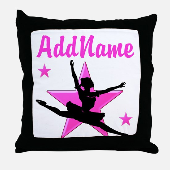 DANCE SUPER STAR Throw Pillow
