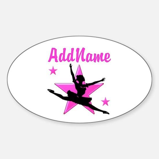 DANCE SUPER STAR Sticker (Oval)