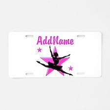 DANCE SUPER STAR Aluminum License Plate