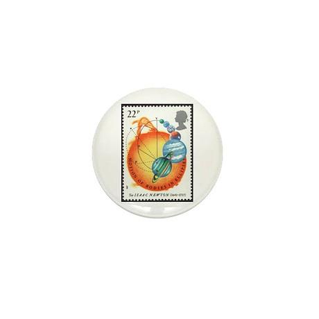Isaac Newton Mini Button (10 pack)
