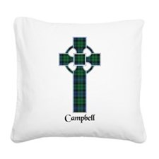 Cross - Campbell Square Canvas Pillow