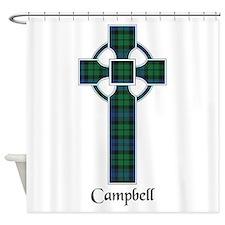 Cross - Campbell Shower Curtain