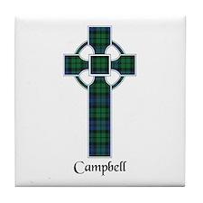 Cross - Campbell Tile Coaster