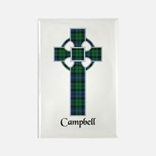 Cross - Campbell Rectangle Magnet