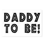 Daddy to be! Postcards (Package of 8)