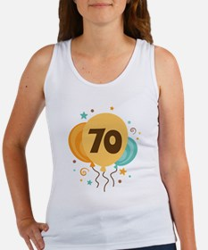70th Birthday Party Women's Tank Top