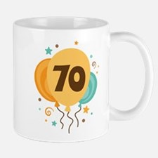 70th Birthday Party Mug