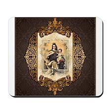 Our Lady of Mt Carmel Mousepad