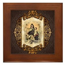 Our Lady of Mt Carmel Framed Tile