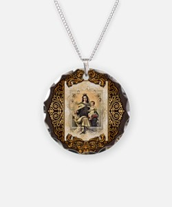 Our Lady of Mt Carmel Necklace