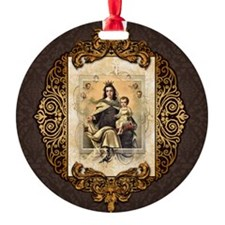 Our Lady of Mt Carmel Ornament