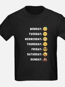 Emoji Days of the Week T