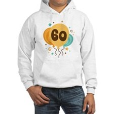 60th Birthday Party Jumper Hoody