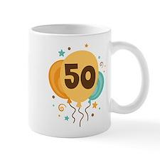 50th Birthday Party Mug