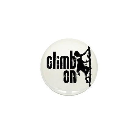 Climb On Mini Button