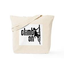 Climb On Tote Bag