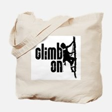 Climb On Tote Bag