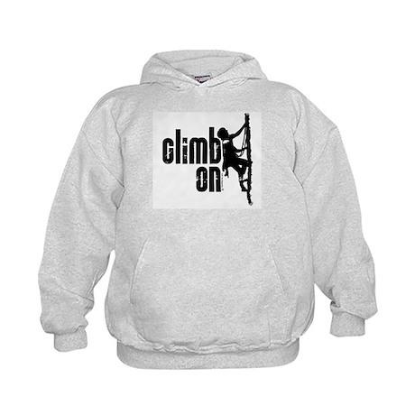 Climb On Kids Hoodie